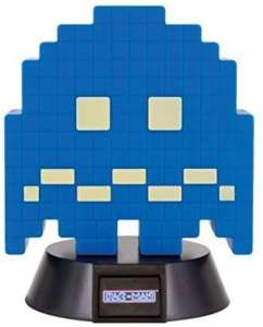 Mini lámpara Paladone Pac-Man Ghost azul