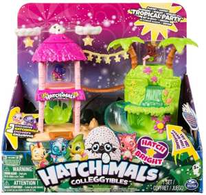 Playset Isla Luminosa Hatchimals de Bizak