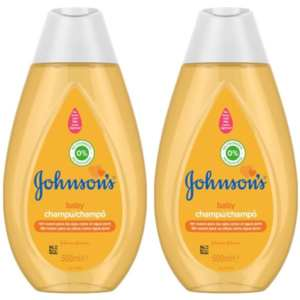 Champú Johnson's Baby – 2 x 500 ml